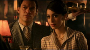 dominic west and oona chaplin - the hour 2 1950s